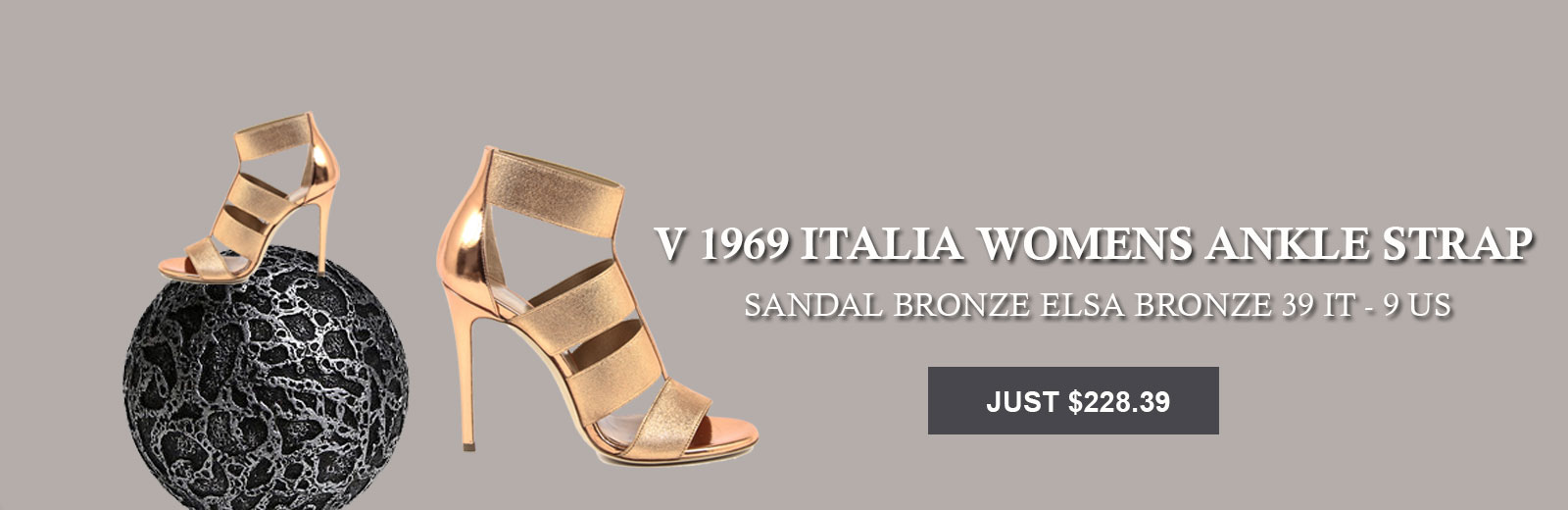 Womens Ankle Strap Sandal