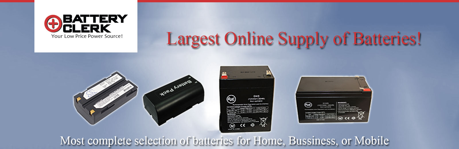 BATTERYCLERK DISCOUNT BATTERIES